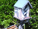 Bees in a Bird House