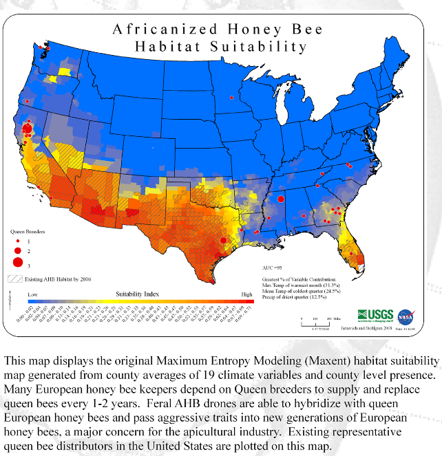 Where In Florida Are Honey Bees Natural Habitat 74